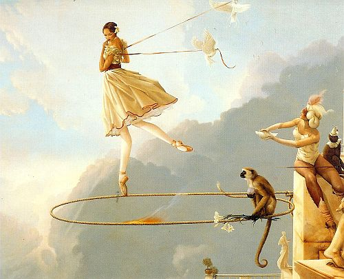Tuesday's Child, 1982, Michael Parkes